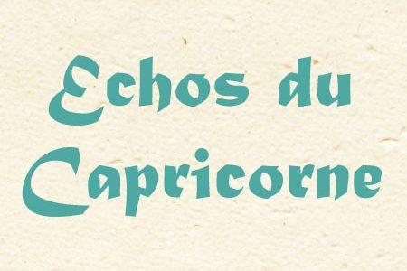 Echos du Capricorne