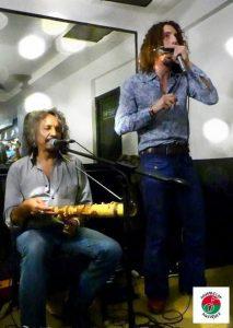 Tao Ravao et Thomas Laurent